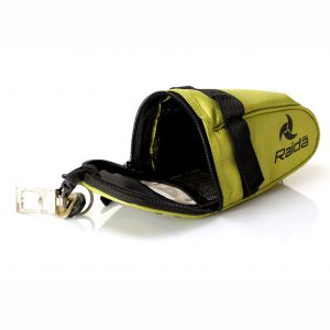 Raidagears cycle saddle bag green