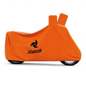 Raida waterproof motorcycle cover orange
