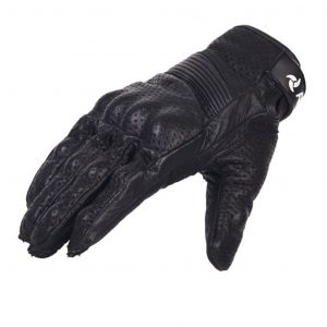Raidagears cruisepro motorcycle gloves black