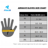 raida gloves chart